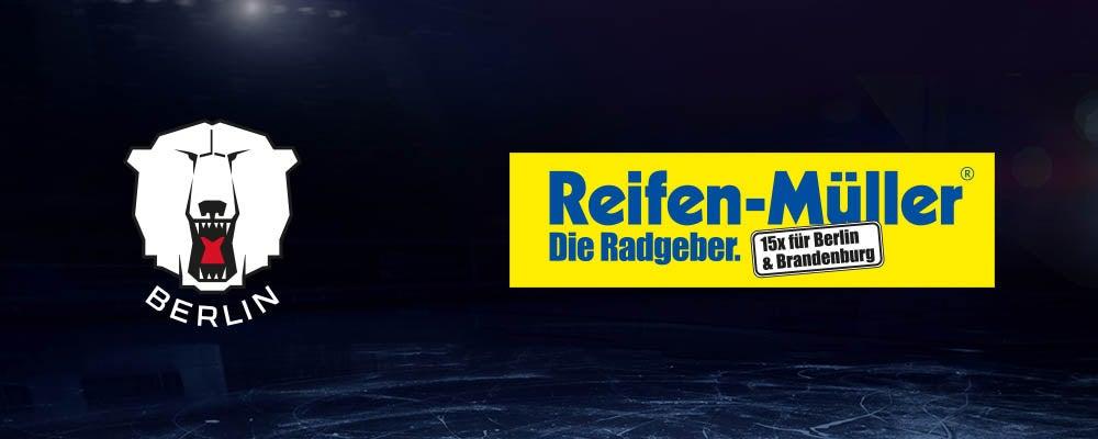 Reifen Müller verlängert Partnerschaft mit den Eisbären Berlin