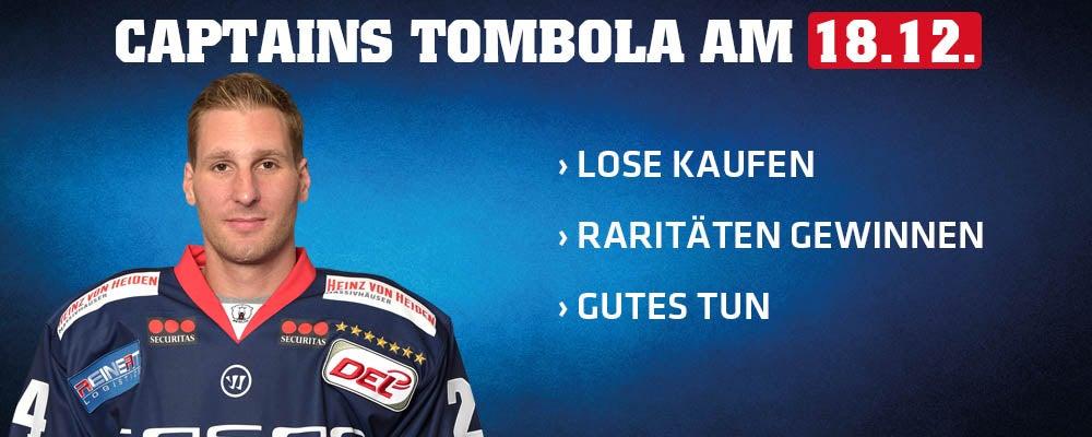 2. Captains Tombola am kommenden Sonntag