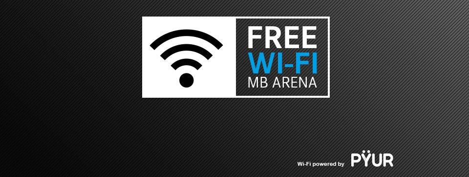 Mercedes-Benz Arena bietet neues, leistungsstarkes Wi-Fi für alle