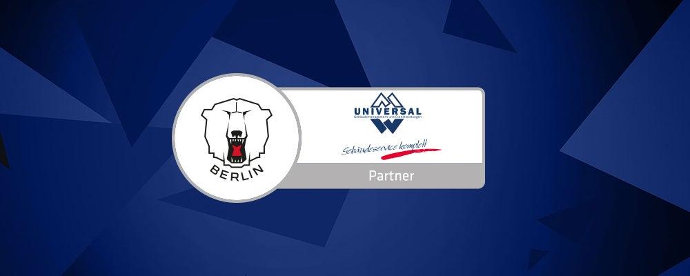 Universal und Eisbären Berlin weiterhin Partner