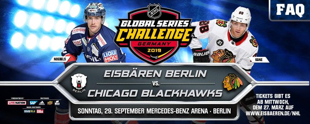 FAQ Eisbären vs. Blackhawks 29.09.2019