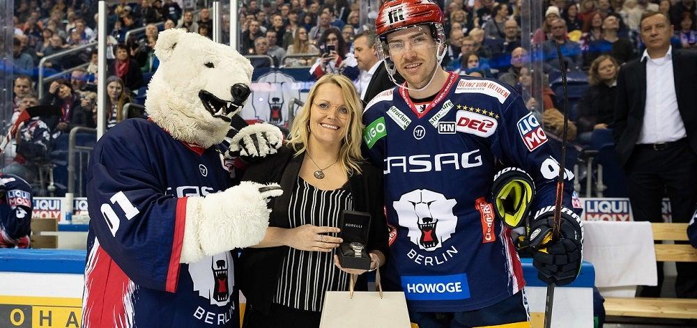 Marcel Noebels ist Eisbär der Saison 2019/20