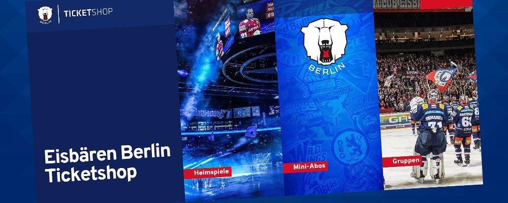 Neuer Eisbären-Ticketshop online