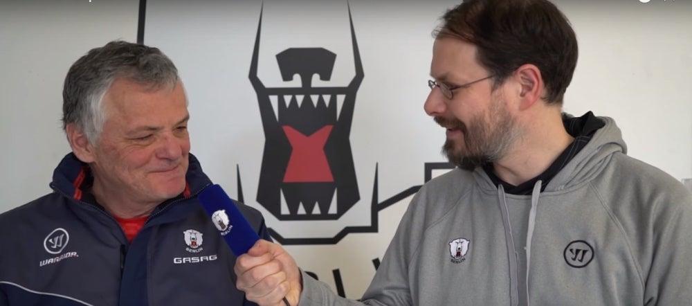 Eisbären-Gespräch mit Clément Jodoin