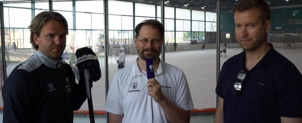 Petri Vehanen und Sebastian Elwing im Eisbären-Gespräch