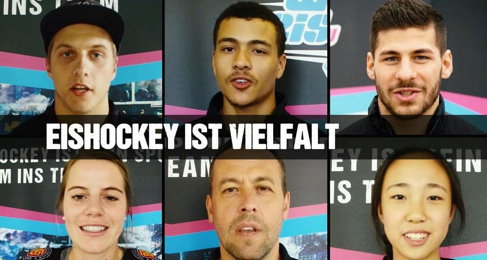 Gelebte Vielfalt im Eishockey