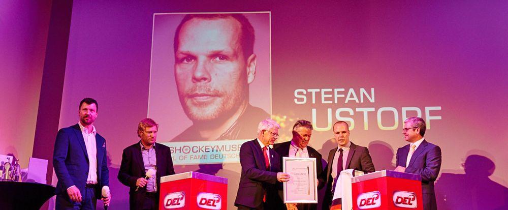 Stefan Ustorf in Hall of Fame aufgenommen